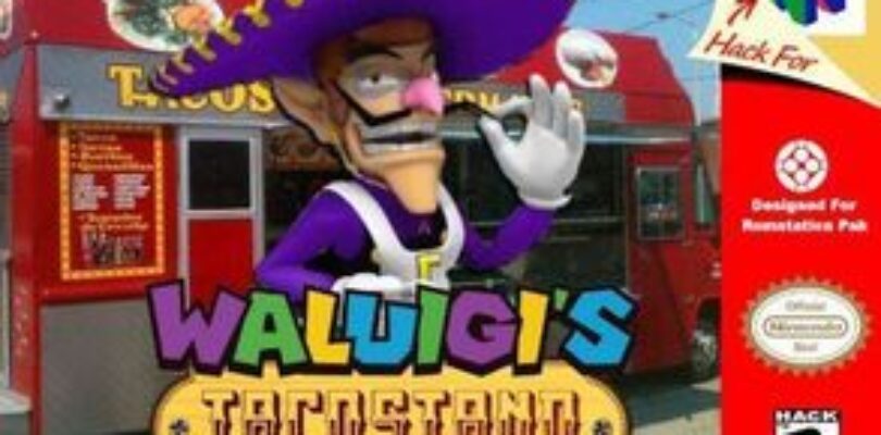 Waluigi's Taco Stand Fan-Game Review