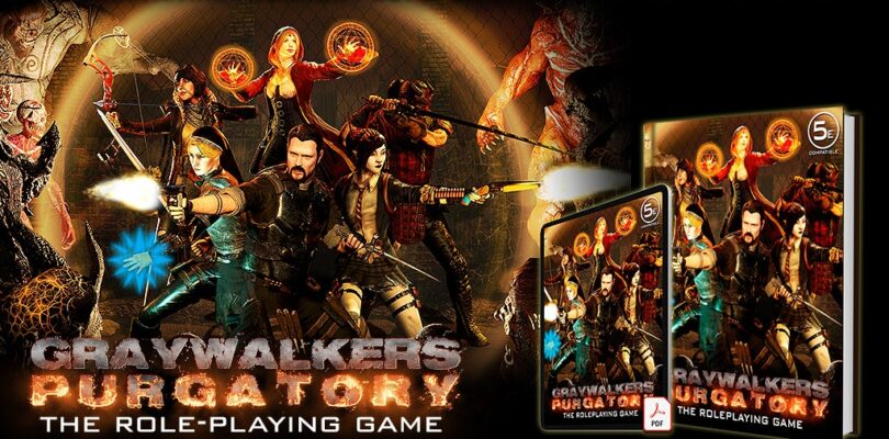 Graywalkers Purgatory Tabletop Kickstarter