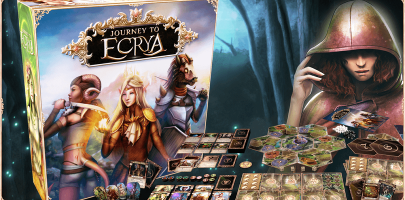 Journey to Ecrya Tabletop game review