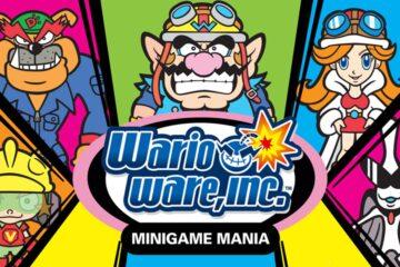 Wario Ware Inc Minigame Mania GBA review