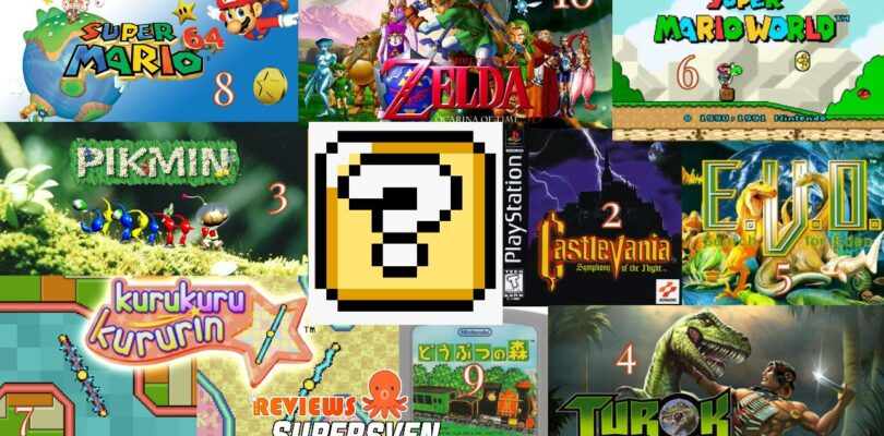 Top 10 Favorite Retro reviews on Reviews by Supersven